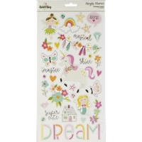 Εικόνα του Dream Big Chipboard Stickers