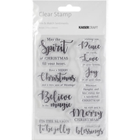Εικόνα του Mix & Match Sentiments Clear Stamps