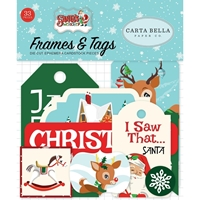 Εικόνα του Santa's Workshop Ephemera Cardstock Die-Cuts - Frames & Tags
