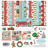 "Εικόνα του Carta Bella Collection Kit 12""X12"" - Santa's Workshop"
