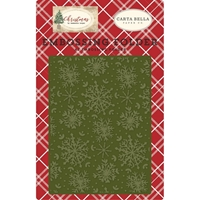 Εικόνα του Carta Bella Embossing Folder A2 - Jolly Snowflakes