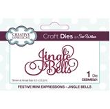 Εικόνα του Creative Expressions Festive Mini Craft Dies - Jingle Bells
