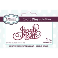 Εικόνα του Creative Expressions Festive Mini Craft Dies - Jingle Bells
