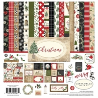 "Εικόνα του Carta Bella Collection Kit 12""X12"" - Christmas"