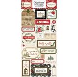 Εικόνα του Carta Bella Christmas Chipboard - Phrases