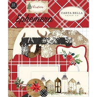 Εικόνα του Carta Bella Christmas Ephemera Cardstock Die Cuts - Icons