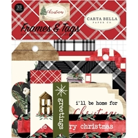 Εικόνα του Carta Bella Christmas Ephemera Cardstock Die Cuts - Frames & Tags