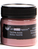 Εικόνα του Finnabair Art Extravagance Rust Effect Paste - Taupe Rose