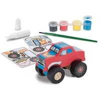 Εικόνα του Παιχνίδι δημιουργίας Decorate Your Own Wooden Kit - Monster Truck