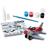 Εικόνα του Παιχνίδι δημιουργίας Decorate Your Own Wooden Kit - Airplane