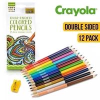 Εικόνα του Crayola Dual Ended Pencil Set - Χρωματιστά μολύβια