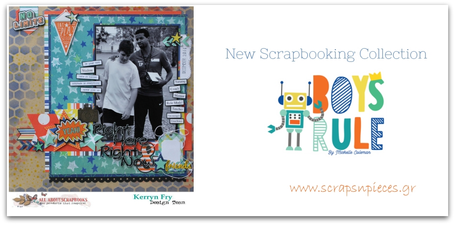 Boys Rule Scrapbooking Collection