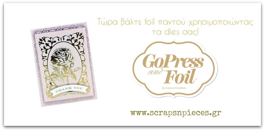 GoPress Foil machine
