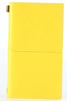 Εικόνα του Traveler's Journal Kit Pl Leather - Κίτρινο