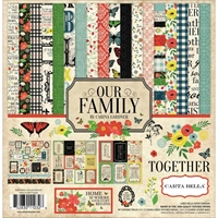 "Εικόνα του Carta Bella Collection Kit 12""X12"" - Our Family"