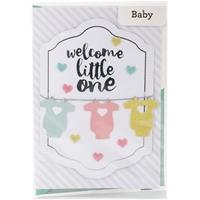 Εικόνα του American Crafts Ευχετήρια Κάρτα - Welcome Little One
