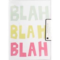 Εικόνα του Heidi Swapp Ευχετήριες Κάρτες A7 - Blah, Blah, Blah