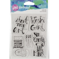Εικόνα του Jane Davenport Artomology Clear Stamps - Crafty Minx