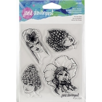 Εικόνα του Jane Davenport Artomology Clear Stamps - Flower Girls