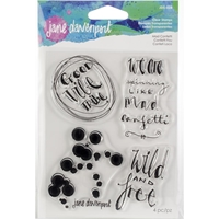 Εικόνα του Jane Davenport Artomology Clear Stamps - Mad Confetti