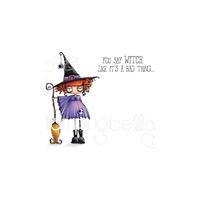 Εικόνα του Stamping Bella Cling Stamps - Oddball Witch