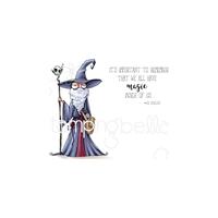 Εικόνα του Stamping Bella Cling Stamps - Oddball Wizard