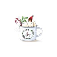 Εικόνα του Stamping Bella Cling Stamps - Teeny Tiny Townie Hot Chocolate
