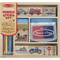 Εικόνα του Wooden Stamp Set - Vehicles
