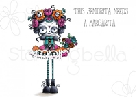 Εικόνα του Stamping Bella Cling Stamps - Day Of The Dead Oddball