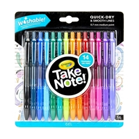 Εικόνα του Crayola Take Note! Washable Gel Pens