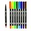 Εικόνα του KingArt - Dual Tip Brush Pens - Μαρκαδόροι Νερού  με Διπλή Μύτη 24τμχ