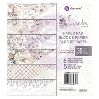 Εικόνα του Prima Marketing Double-Sided Paper Pad 6''X6'' - Lavender Frost