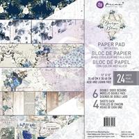 """Εικόνα του Prima Marketing Double-Sided Paper Pad 12""""X12"""" - Georgia Blues"""