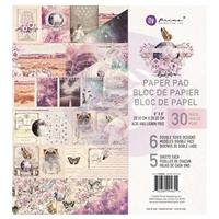 """Εικόνα του Prima Marketing Double-Sided Paper Pad 8""""X8"""" - Moon Child"""