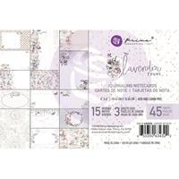 """Εικόνα του Lavender Frost Journaling Cards Pad 4""""X6"""""""