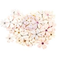 Εικόνα του Lavender Frost Fabric Flowers - Provincial Lavender