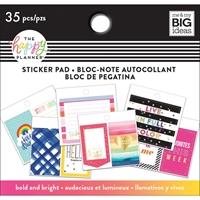 Εικόνα του Happy Planner Tiny Sticker Pad - Bold And Bright