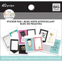 Εικόνα του Happy Planner Tiny Sticker Pad - Make Things Happen