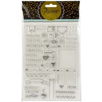 Εικόνα του Studio Light Planner Journal A5 Stamp - Set 1