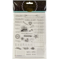 Εικόνα του Studio Light Planner Journal A5 Stamp - Set 2
