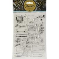 Εικόνα του Studio Light Planner Journal A5 Stamp - Set 8
