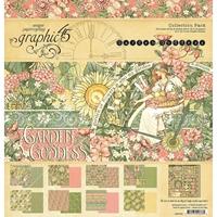 """Εικόνα του Graphic 45 Collection Pack 12""""X12"""" - Garden Goddess"""