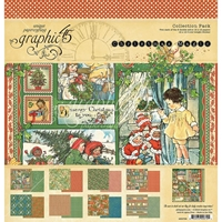 "Εικόνα του Graphic 45 Collection Pack 12""X12"" - Christmas Magic"