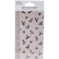Εικόνα του Simply Creative Χαρτί Decoupage - Birds