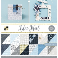 "Εικόνα του DCWV Double-Sided Cardstock Stack 12""X12"" - Blue Noel"