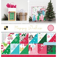 "Εικόνα του DCWV Double-Sided Cardstock Stack 12""X12"" - Happy Wishes"