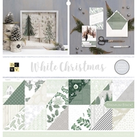 "Εικόνα του DCWV Double-Sided Cardstock Stack 12""X12"" - White Christmas"