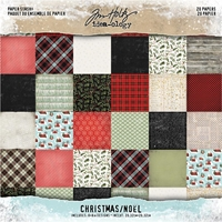 Εικόνα του Tim Holtz  Idea-ology Paper Stash 8X8 - Christmas