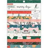 "Εικόνα του Crate Paper Paper Pad 6""X8"" - Merry Days"