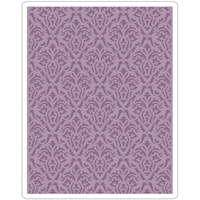 Εικόνα του Sizzix Texture Fades Embossing Folder By Tim Holtz - Damask